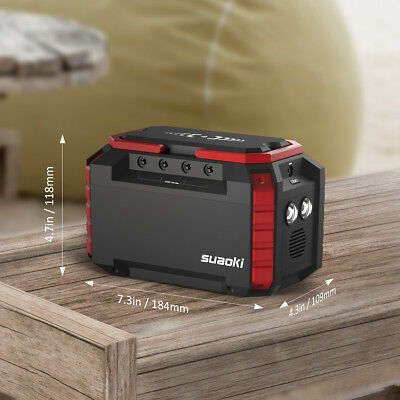 Suaoki S270 Power Source 150WH Charging Station For Camping or Emergency backup