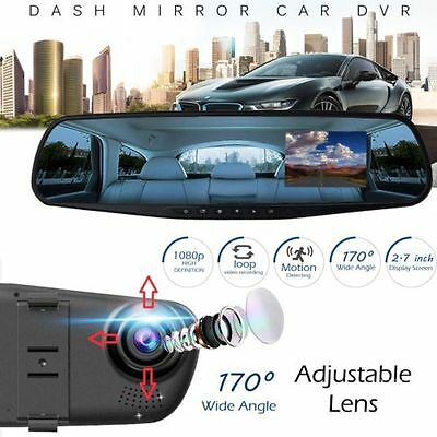 1080P 2,7'' HD DVR Recorder Videoregistrator KFZ Auto Kamera Dashcam USB 2,0