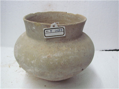 Middle bronze age terra cotta bowl p2397