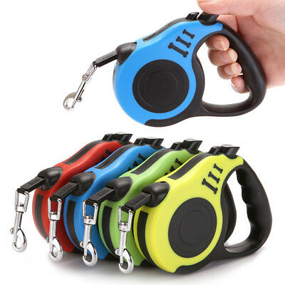 3/5 m Automatic Retractable Dog Leash Flexible Strap Rope Belt for Dog Cat Puppy