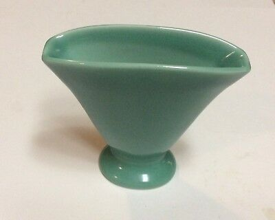 1929 Rookwood art pottery matte green Fan vase  #2938