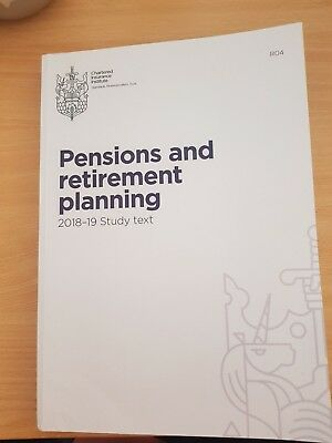 CII R04 Pensions and Retirement Planning 2018-19 Study Text