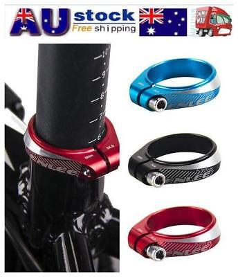 Aluminum Alloy Bike Bicycle Cycling Saddle Seat Post Clamp for 30.9 /31.6mm Bike