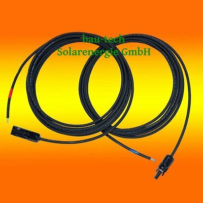 Connection Cable 4mm² 1m - 10m Solar Cable PV Cable MC4 Plug Mounted QH