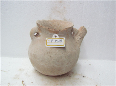 early bronze age terra cotta tea pot p2341
