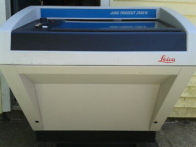 LEICA JUNG FRIGOCUT 2800 N. Cryostat Refrigerated Microtome .