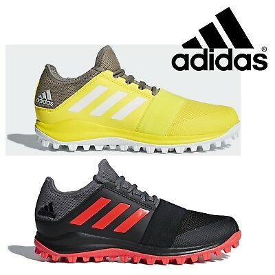 huge selection of 43b80 95b2f ADIDAS DIVOX 1.9S Mens  Boys Field Hockey Shoes Black Yellow Sports  Trainers - EUR 69,57  PicClick FR