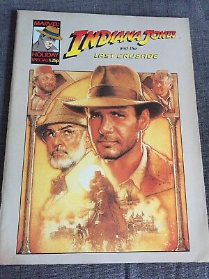 Indiana Jones And The Last Crusade Marvel Holiday Special 1989