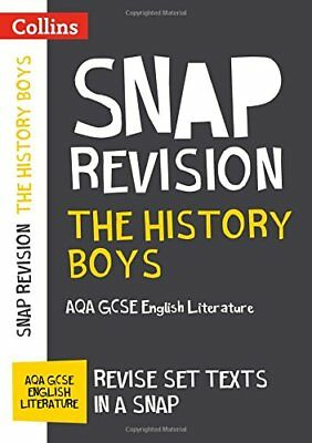 The History Boys: AQA GCSE 9-1 English Litera by Collins GCSE New Paperback Book