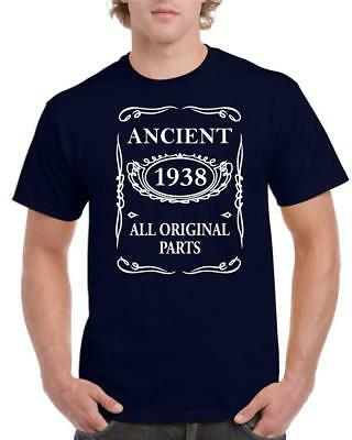 21st 30th 40th 50th 60th 70th 80th Funny Birthday T-Shirt Ancient All Original