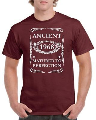 21st 30th 40th 50th 60th 70th 80th Funny Birthday T-Shirt Ancient Matured To