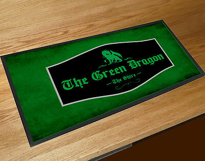 The Green Dragon Lord of the Rings Bar Movie inspired Bar runner pubs clubs