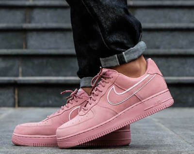 New NIKE Air Force 1 Low LV8 Shoes Mens suede burnt pink all sizes
