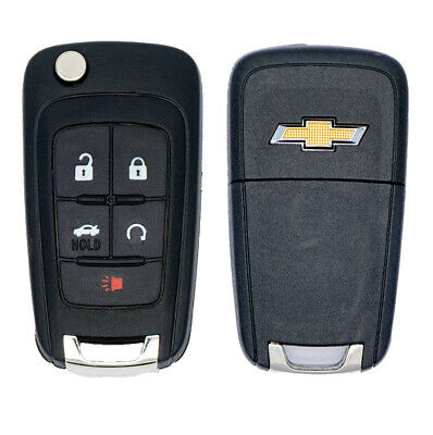 New Oem Gm Chevy Chevrolet Flip Key Keyless Remote Fob Transmitter 13500221