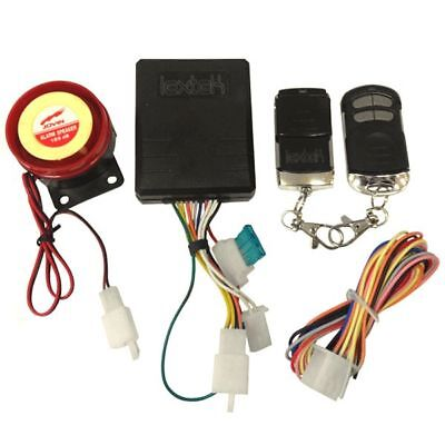 Lextek Motorcycle Scooter Moped Alarm with Immobiliser