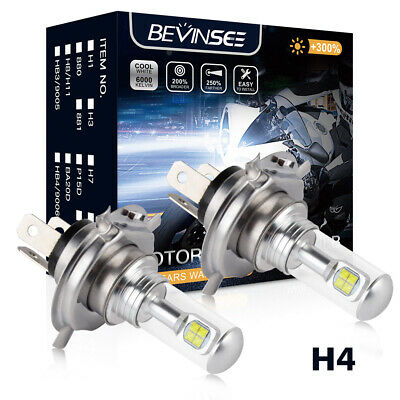 Bevinsee Cree LED Headlight Bulb For Arctic Cat 250 300 400 500 2002-05 650 2004