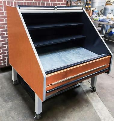 """Southern Casearts Flx-4 48"""" Refrigerated Produce Table Bakery Merchandiser"""