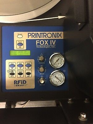 Printronix Fox IV Printer aplicator RFID Smart*D5049*