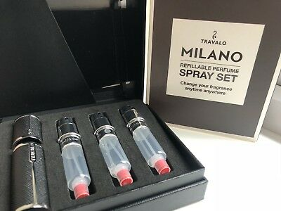 Travalo Milano Refillable Perfume Atomiser Set