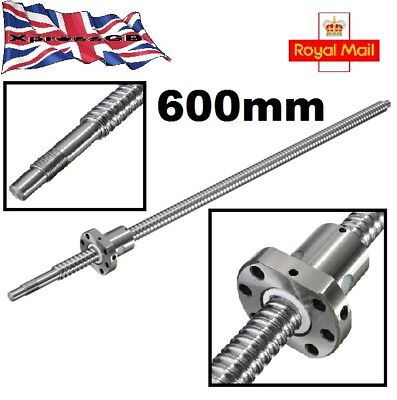 600mm SFU1605 Ball Screw with Ball Nut for CNC GB