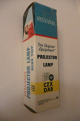 Sylvania CZX DAB 500W 120V Projector Lamp Projection Light Bulb NOS