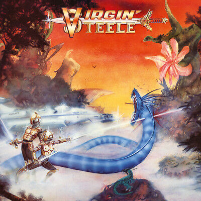 Virgin Steele - S/T +8, Cd Remastered Reissue No Remorse 2018 New Sealed