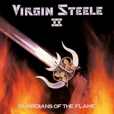 Virgin Steele - Guardians Of The Flame, Cd Reissue No Remorse 2018 New Sealed
