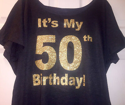 a79fa40fd 50th birthday shirt , fifty , it's my 50 birthday t-shirt, womens birthday