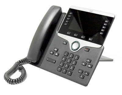 CISCO CP-8811 UNIFIED IP VOIP Greyscale Telephone Phone 8800
