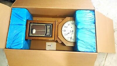 Vintage Hamilton Greenfield Manor Franz Hermle Regulator Wall Clock