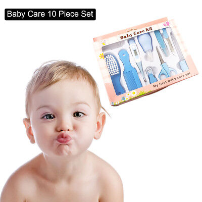 Baby Health Care Travel Kit Brush Comb Nail Clippers Thermometer Nasal  Aspirato