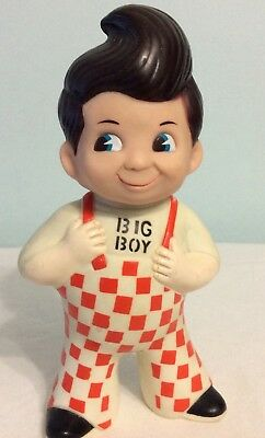 Old Big Boy Advertisement Restaurant Vinyl Piggy Coin Bank