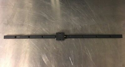 """Thk Y3K1529 Linear Guide Way / Slide / Stage , Rail 20.5 """" , Travel 18"""""""