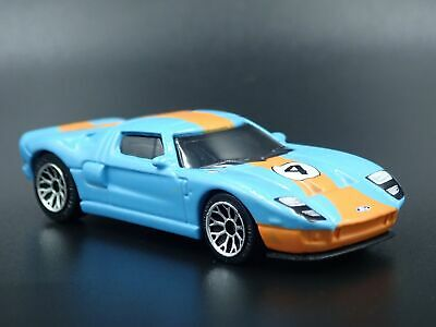 1965 Ford Gt40 Gulf Livery #4 Rare 1:64 Scale Collectible Diecast Model Car