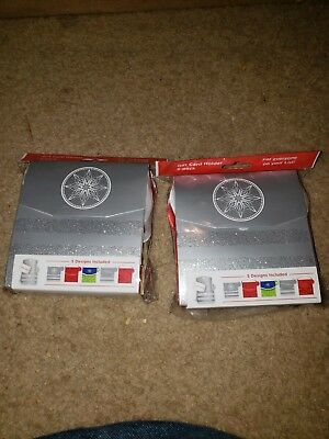 Lot 50 Gift Card Holders Brand New 10 Packs 5 Different Designs
