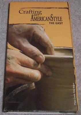 Crafting an American Style the East VHS arts & crafts movement Gustav Stickley