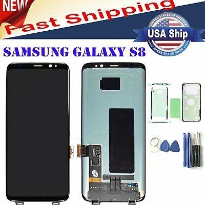 LCD Display Touch Screen Digitizer Replacement For Samsung Galaxy S8 SM-G950F US