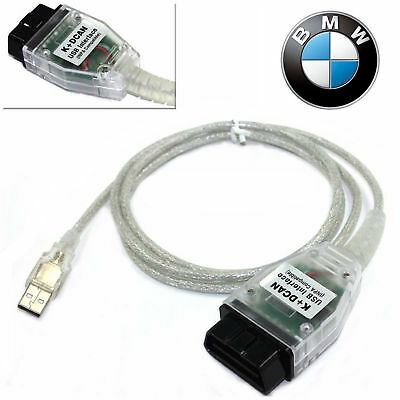 New BMW K+DCAN OBD2 Cable Switch FTDI FT232RL Tools INPA EDIABAS NCS EXPERT ISTA