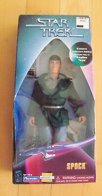 "STAR TREK - Spock 9"" Figur KB-Toys exclusive - Playmates 1997 City on the edge -"