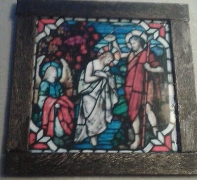 Dolls House Stained glass look Picture (Jesus)