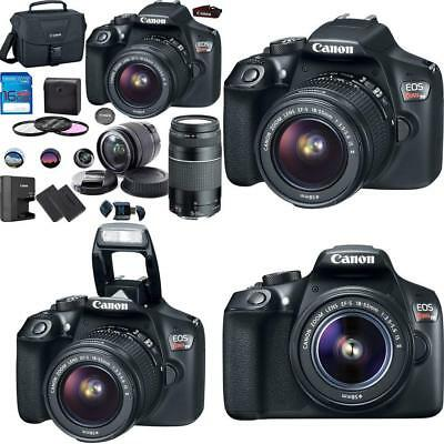 Deal-Expo Canon EOS Rebel T6 Digital SLR Camera Kit with EF-S 18-55mm and EF...