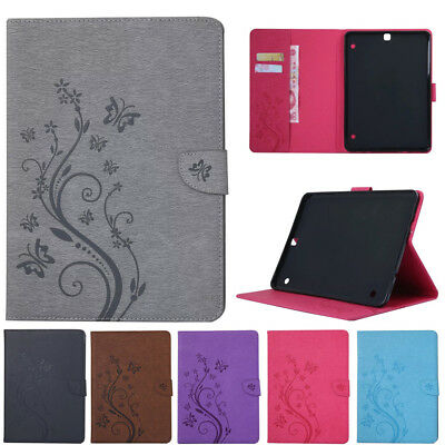 """For Samsung Galaxy Tab S2 8"""" 9.7"""" Tablet Smart PU Leather Card Wallet Case Cover"""