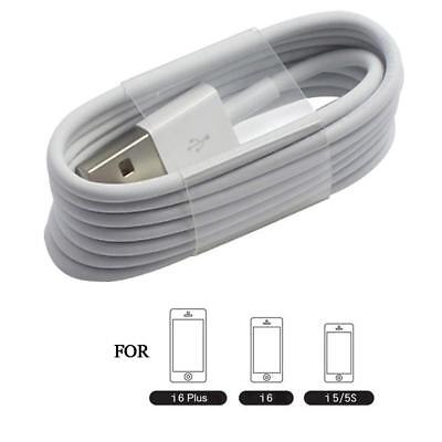 For IPhone 8 7 6s 6 5 X Cable Lighting USB Charger Charging Cable Cord 1/3/5Pcs