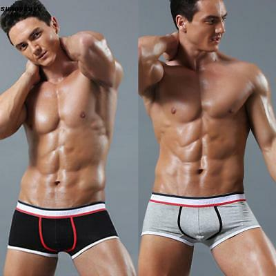 New Men's Comfy Soft Underwear Boxer Briefs Shorts Bulge Pouch Underpants RR3