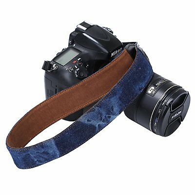 Vintage SLR DSLR Camera Shoulder Wrist Neck Strap Belt for Canon Nikon Sony F