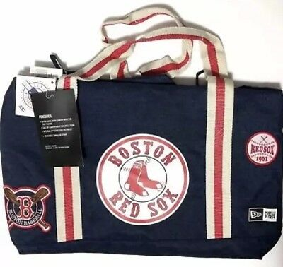 Boston Red Sox New Era Heritage Patch Small Duffel Bag Gym Bag 16
