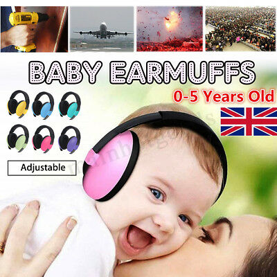 BABY Childs Toddlers Childs Kids Ear Muffs Protectors Earmuffs Noise Protection