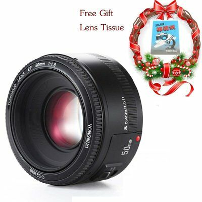 YONGNUO YN 50MM F1.8 Large Aperture Auto Focus lens For Canon EF EOS