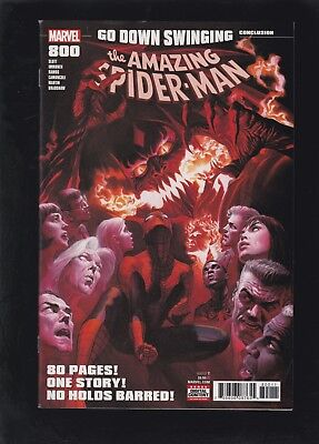 Amazing Spider-Man #800 Cover A by Alex Ross! Go Down Swinging - Red Goblin!
