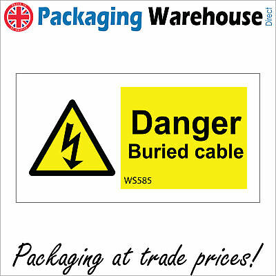 DANGER HIGH NOISE LEVELS SAFETY STICKER RIGID WS288 INDOOR OUTDOOR SIGN
